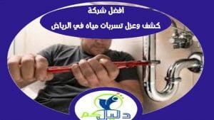 افضل شركة كشف وعزل تسربات مياه فى الرياض